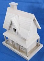 wooden house model farm house style decoration