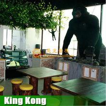 Other amusement animal animatronic king kong for sale