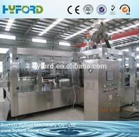 Professional supplier automatic glass bottle filling machine for fruit juice/beer /beverage