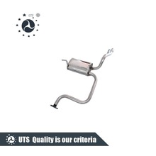 car exhaust pipe rear muffler for daewoo matiz-ii 01/chevrolet spark rear muffler