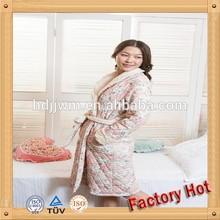 factory wholesale cotton chenille bathrobe chamois fabric 100% cotton OEM