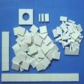 Desgaste - resistencias de corindón pedazo de alúmina de la piezas de mosaico