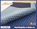 spandex jacquard tela dril de algodón pantalones vaqueros para mujer
