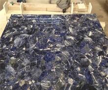 semi-precious blue granite sodalite blue stone