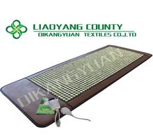 Decavem 80 * 200 cm 1092 unids natural colchón de piedra de jade, Calefacción jade de la salud estera