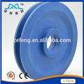 Rouleaux poulie roue/nylon poulie en plastique en caoutchouc