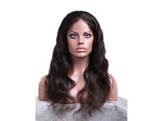 2015 Best Selling 100% Unprocessed Virgin Remy Brazilian Human Hair Full Lace Wig With Baby Hair