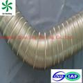 Alumínio semi dutos de ar não- inflamar ondulada de alumínio isolados dutos de hvac