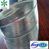 semi aluminum air ducting No air leakage semi rigid aluminium flexible ducting For fume exhaust