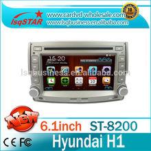 Hyundai H1 Car Audio DVD Hot selling wince 6.0 VW Seat ibiza Auto Radio DVD With GPS Radio+BT phonebook+Ipod list +big USB+SWC