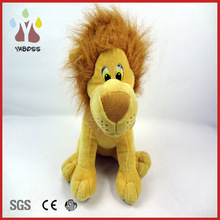 Hot sell super soft cute plush lion king
