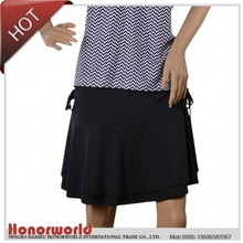 professional supplier BSCI approved men leather skirt
