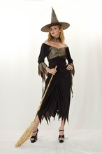 Wholesale Witch Dance Dress Carnival Halloween Costume