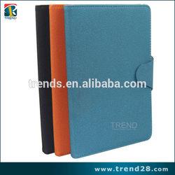 right open folio leather cover case for ipad mini2