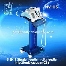 NV-H5 Vaccum injection mesotherapy vaccum meso gun Hydrolifting Beauty Machine CE