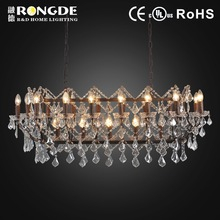 Classical Antique bulk chandelier crystals for restaurant