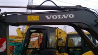 crawler moving type used Volvo ec55blc mini crawler excavator with hydraulic engine second hand volvo 5.5t minicrawler excavator