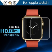 Wholesale High Quality Ultra thin Clear Soft HD Screen Protector Film For Apple watch smartwatch TPU Antishock Protector Film