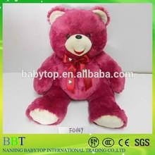 wholesale 2 meter teddy bear with a tie, teddy bear 2m