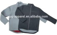 Men Zipper Up Polar Fleece Sweatshirt