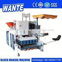 WT10-15 Mobile type brick making tools