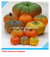 Artificial pumpkin Halloween Props faux vegetables Pretend Play fake food