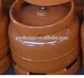 Espessura satinless aço materiais 14.4L cilindros de gás