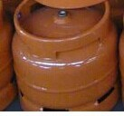thickness satinless steel materials 14.4L gas cylinders