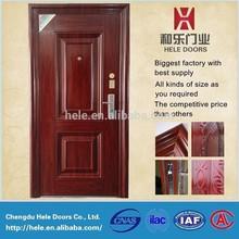 40/60/70/80/90 thickness door leaf steel swing entrance door