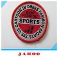 Emblema tecido para roupas de futebol