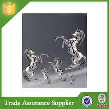Silver Plated Resin Miniature Horse