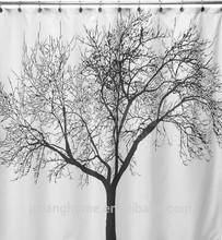 Tree Design Shower Curtain