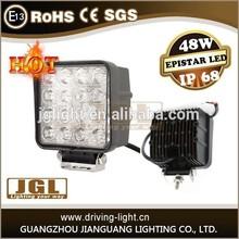 48W led worklight 12v 24v led work light for truck and tractor