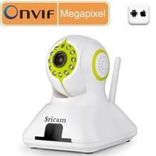 Newest Sricam SP006 Wifi Indoor CMOS P2P IP camera wireless 720P infrared full hd kamera HD ip camera onvif