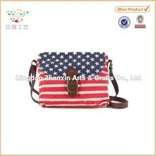 ZHENXIN American Flag Canvas bag