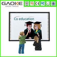"Hot sale 78"" 82"" 96"" 104"" 120"" multi touch smart board whiteboard for smart classroom"