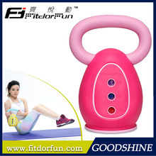 Feva Kettle Bell Hot Sale Unique Multicolored Eco Friendly Materials Adjustable 3 Iron Weights Upper Body Kettle Bell Swings