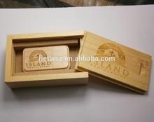 popular wedding gift wooden usb flash drive with box custom natural wood usb memory stick best wholesale price usb flash drive