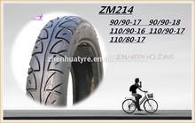 Motorcycle tyre 6PR 65P 110/90-16 Double Bridge brand tubeless ZM214