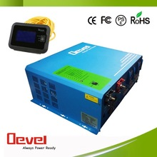 2000W 12vdc to 220vac inverter solar panel inverter power inverter with charger