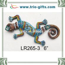 Wholesale Polyresin Souvenirs Lizard Shape Wall Hanging