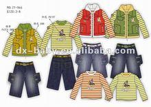 fashion boys clothing set for summer