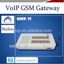 Machine Manufacturers voip 32 ports gsm gateway goip 128 sim cards fxs gsm gateway