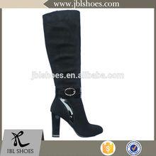 newest style dark coffeeknee boots for OEM/ODM order