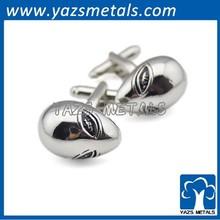 stainless OEM steel cufflink blanks