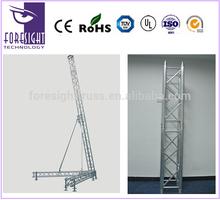FT aluminum spigot speaker truss stand, truss lift tower