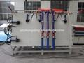 porta de madeira estrutura de montagem da máquina