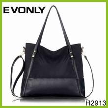 H2913 Hot Sale French Designer Women's Nylon Bag Colorful Nylon Handbags / Tote Bag