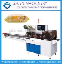 ZE-450W horizontal flow wet tissue pillow packing machine