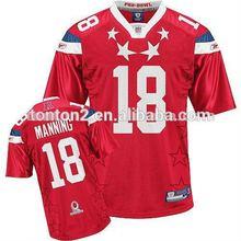 Sports american amateur football jerseys customizing tonton sportswear
